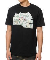 DGK Come Up Black Tee Shirt