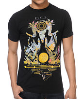 Civil Dream Catcher Black Tee Shirt