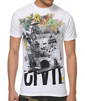 Civil The Unknown White Tee Shirt