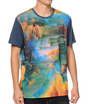 Imaginary Foundation Glitch Sublimated Tee Shirt