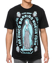Cinco Borrios Bk Tee