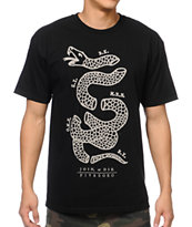 5BORO Join Or Die Black Tee Shirt