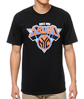 5BORO NY Knickerboro Black Tee Shirt