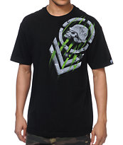 Metal Mulisha Wind Tunnel Black Tee Shirt