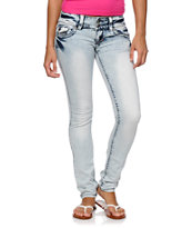 Hydraulic Jule Light Wash Super Skinny Jeans