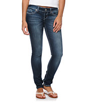 Hydraulic Marly Medium Blue Skinny Jeans