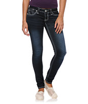 Hydraulic Ultra Deanna Dark Blue Jeggings