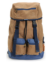 Chuck Originals Field Rucksack Khaki & Denim Backpack