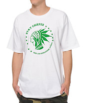 Casual Industrees Stay Chiefed White Tee Shirt