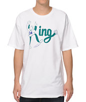 Casual Industrees The King White Tee Shirt
