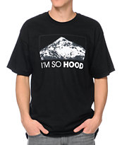 Casual Industrees OR Im So Hood Black Tee Shirt