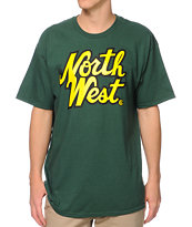 Casual Industrees The Northwest Green Tee Shirt
