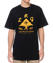 LRG OG Army Stack Black Tee Shirt