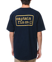 Captain Fin Co. Captain Fin Co. Navy Tee Shirt