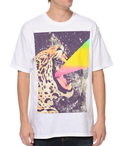 A-Lab Power Cat White Tee Shirt