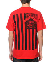 Empyre Patriot Red Pocket Tee Shirt