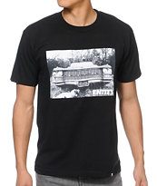 Entity Life Old School Black Tee Shirt