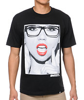 Entity Life Say Ahhh Black Tee Shirt