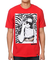 Entity Life Animal Style Red Tee Shirt