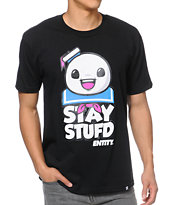 Entity Life Stay Stufd Black Tee Shirt