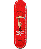 Chocolate Vincent Alvarez Trunk Boyz 8.25 Skateboard Deck