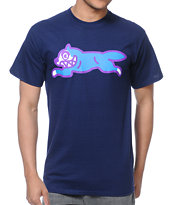 ICECREAM Running Dog Navy Tee Shirt