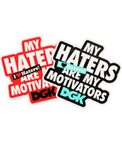 DGK Motivators Assorted Sticker