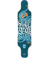 Sector 9 Mini Shaka 40 Longboard Deck