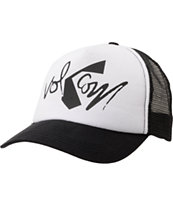 Volcom Girls Nacho Cheese Black & White Trucker Hat