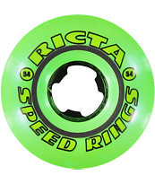 Ricta Speedrings All Green 54mm Skateboard Wheels
