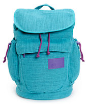 Volcom Girls Daydreamin Emerald Rucksack Laptop Backpack