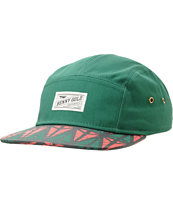 Benny Gold Origins Green 5 Panel Hat
