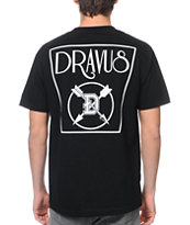 Dravus Elementary Black Pocket Tee Shirt