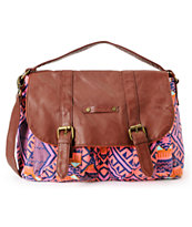 Hurley Girls One & Only Tribal Print Satchel Purse