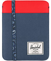 Herschel Supply Cypress Navy & Red iPad Sleeve