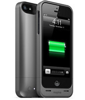 Mophie Juice Pack Helium Black iPhone 5 Charge Case