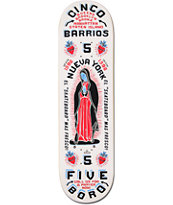 5Boro Cinco Barrios 8.5 Skateboard Deck