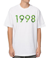 Diamond Supply 1998 Hemp White Tee Shirt