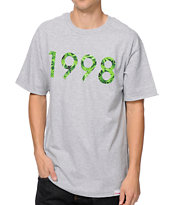 Diamond Supply 1998 Hemp Heather Grey Tee Shirt