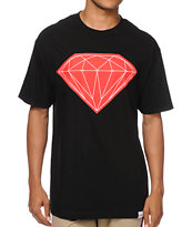 Diamond Suppy Big Brilliant Black & Red Tee Shirt