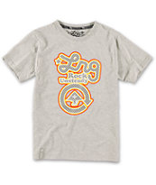 LRG Boys Big Rock Unsteady Grey Tee Shirt