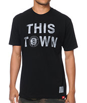 Sportiqe Nets This Town Black Tee Shirt