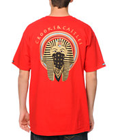 Crooks and Castles Pharaoh 2.0 Red Tee Shirt