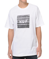 HUF Static Box White Tee Shirt