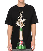 Skate Mental Champagne Black Tee Shirt