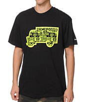 Trukfit Filled Truck Black Tee Shirt
