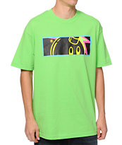 The Hundreds Prismaadam Lime Tee Shirt