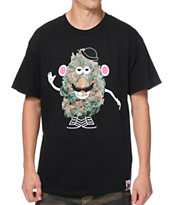 Booger Kids Mr Pot Head Black Tee Shirt