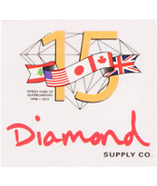 Diamond Supply 15 Years Sticker