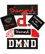 Diamond Supply Assorted Sticker Pack